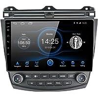 Lexxson - Radio de coche estéreo para Android 8.1 de 10,1 pulgadas, visualización táctil capacitiva de alta definición, GPS, navegación, Bluetooth, USB, 1 G, DDR3 + 16 G NAND flash para Honda Accord 7ª 2003 2004 2005 2006 2007, 2G+16
