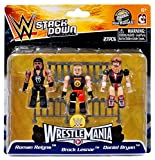 WWE Wrestling C3 Construction StackDown Roman Reigns, Brock Lesnar & Daniel Bryan Minifigue 3-Pack #21099 [WrestleMania]