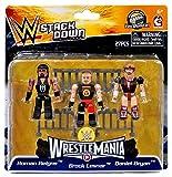 WWE Wrestling C3 Construction StackDown Roman Reigns, Brock Lesnar & Daniel Bryan Minifigue 3-Pack #21099 [WrestleMania]