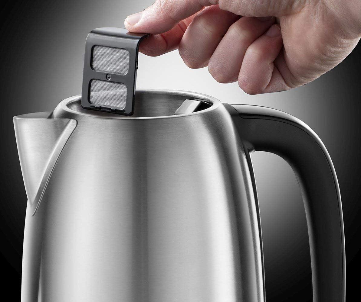 7 tasses Adventure Bouilloire 2400 W plastique acier inoxydable