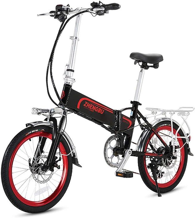 ZBB Bicicleta eléctrica Bicicleta de montaña eléctrica Plegable de ...