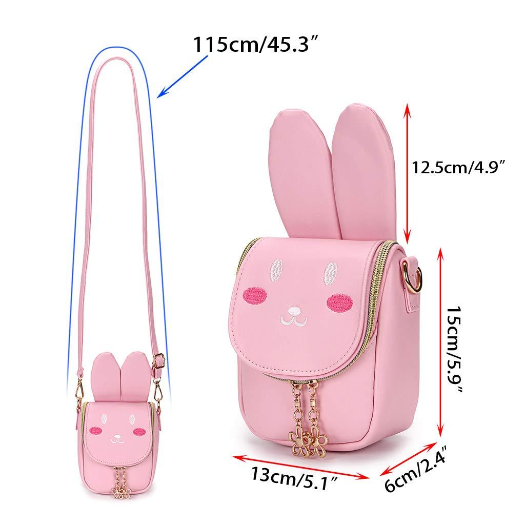 Hipiwe Little Girl Purse Cute Kids Handbag Crossbody Bag Toddlers Shoulder Bags