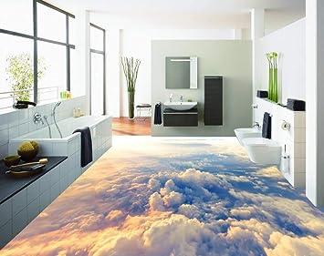 3d Fußboden Preise ~ 3d boden malerei wallpaper high altitude wolken 3d bodenbelag pvc