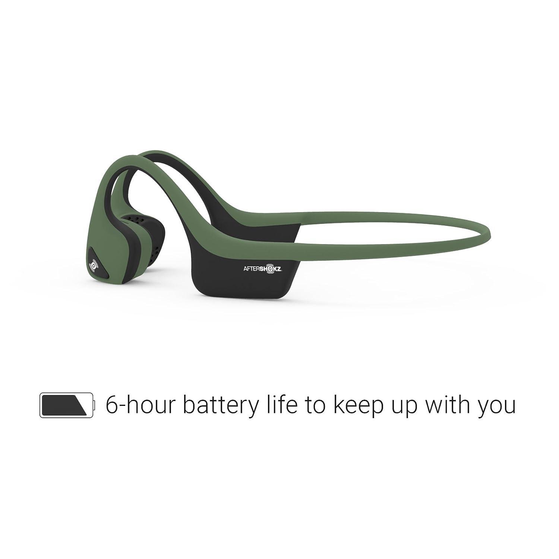 AS650SG Slate Grey AfterShokz Trekz Air Open Ear Wireless Bone Conduction Headphones