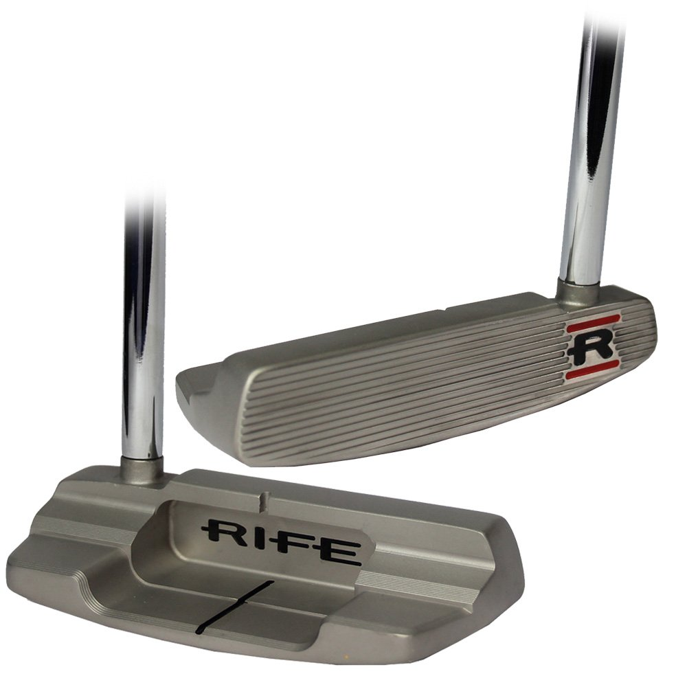 RifeメンズSorrentoスターリングmid-mallet putter-right hand-steel-34 inches B01F6XWUDA