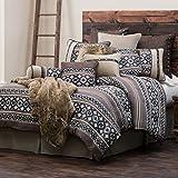 HiEnd Accents Tucson Western Comforter Set, Queen
