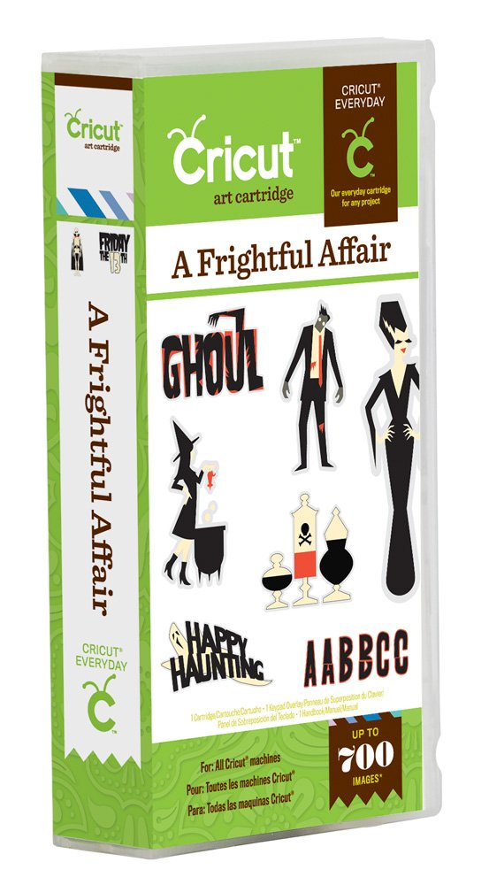 Cricut A Frightful Affair Cartridge