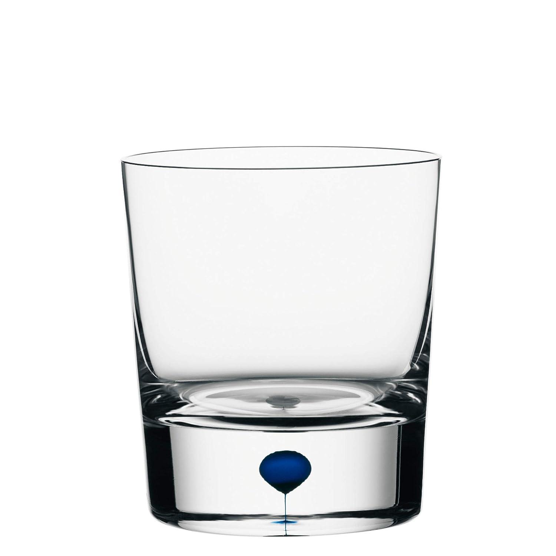 Orrefors Intermezzo Blue Old Fashioned Glass Amazon In Home Kitchen