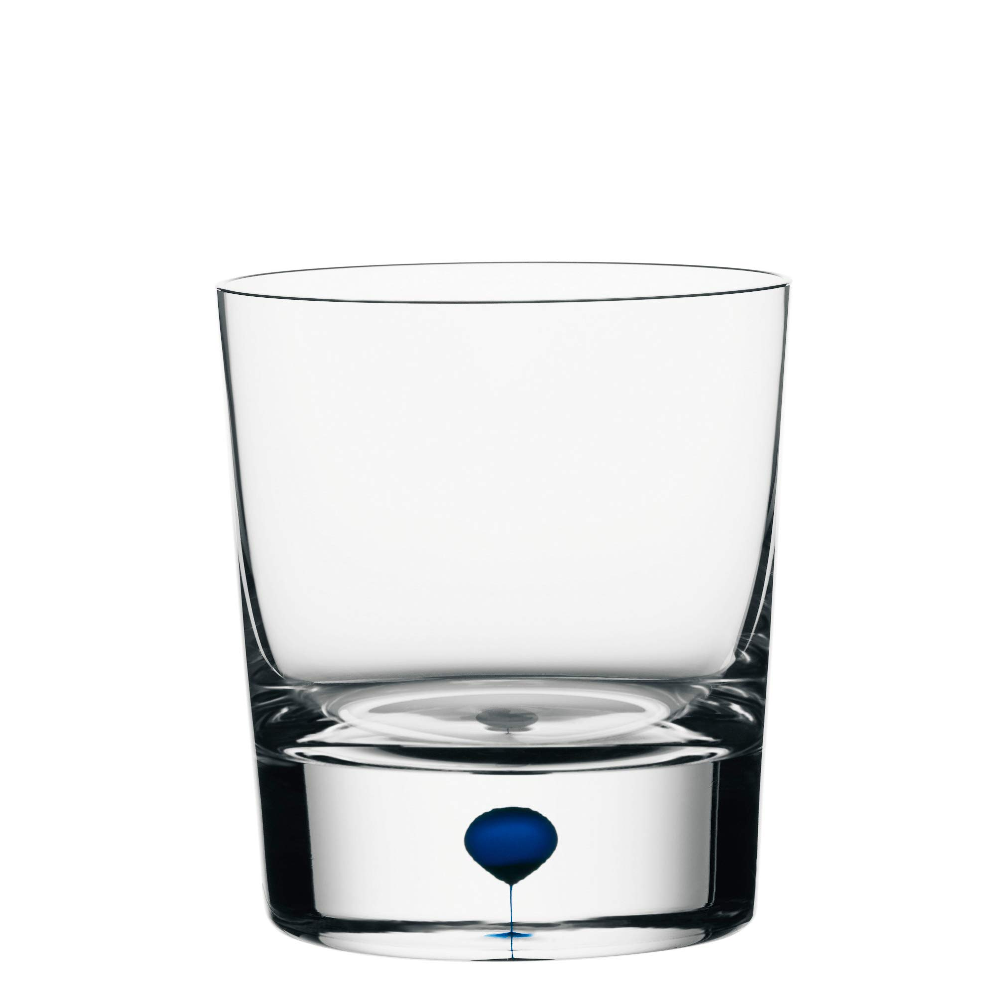 Orrefors 6257440 Intermezzo Blue 8.3 Ounce Old Fashioned/Whiskey Glass, Clesr