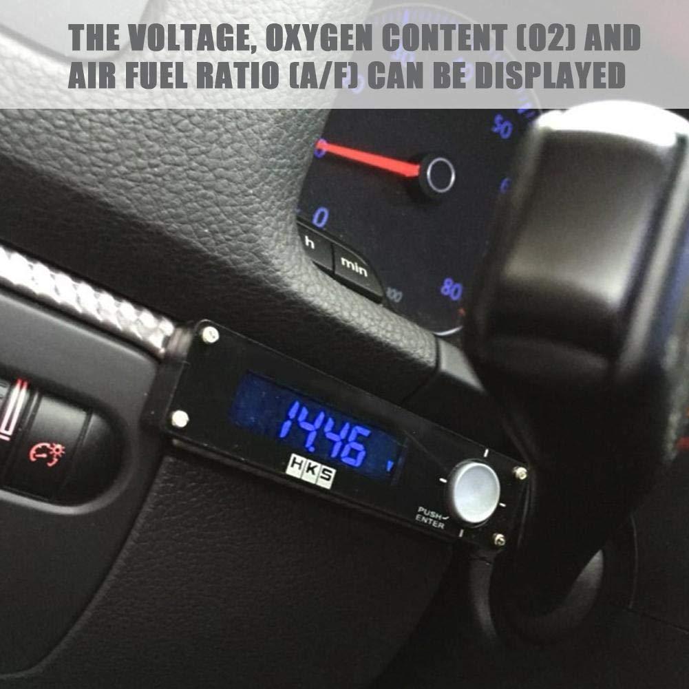 Luz azul Dispositivo temporizador turbo autom/ático universal Retardador de tiempo de estacionamiento LED digital 41001-AK009 Qiilu Temporizador turbo para autom/óvil