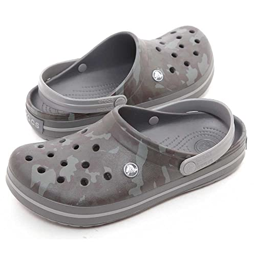 6056026a0602b3 Crocs Crocband Camo II Women Clog in Grey  Buy Online at Low Prices in India  - Amazon.in