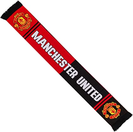 Authentic EPL from the UK Manchester United FC Scarf
