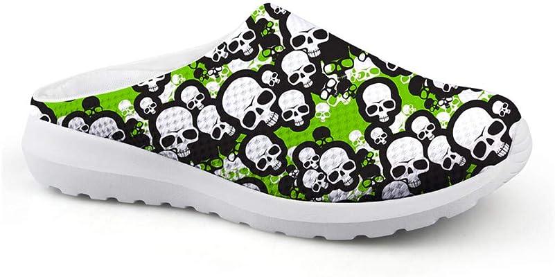 Chaussures de Plage tête de mort 1