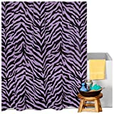 Karin Maki Zebra Shower Curtain, Lavender