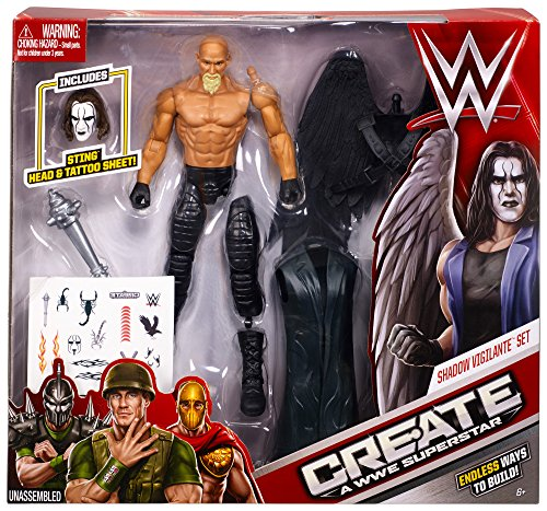 Create a WWE Superstar Sting Pack (Action Wrestler Figure Sting)