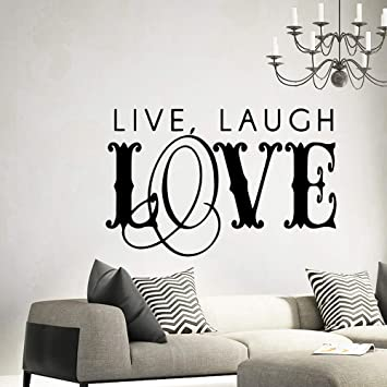 haotong11 Belle Amour Stickers Muraux Home Decor Salon Mur ...
