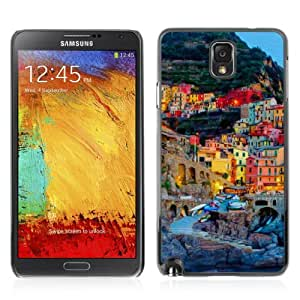 Designer Depo Hard Protection Case for Samsung Galaxy Note 3 N9000 / Town In Italy