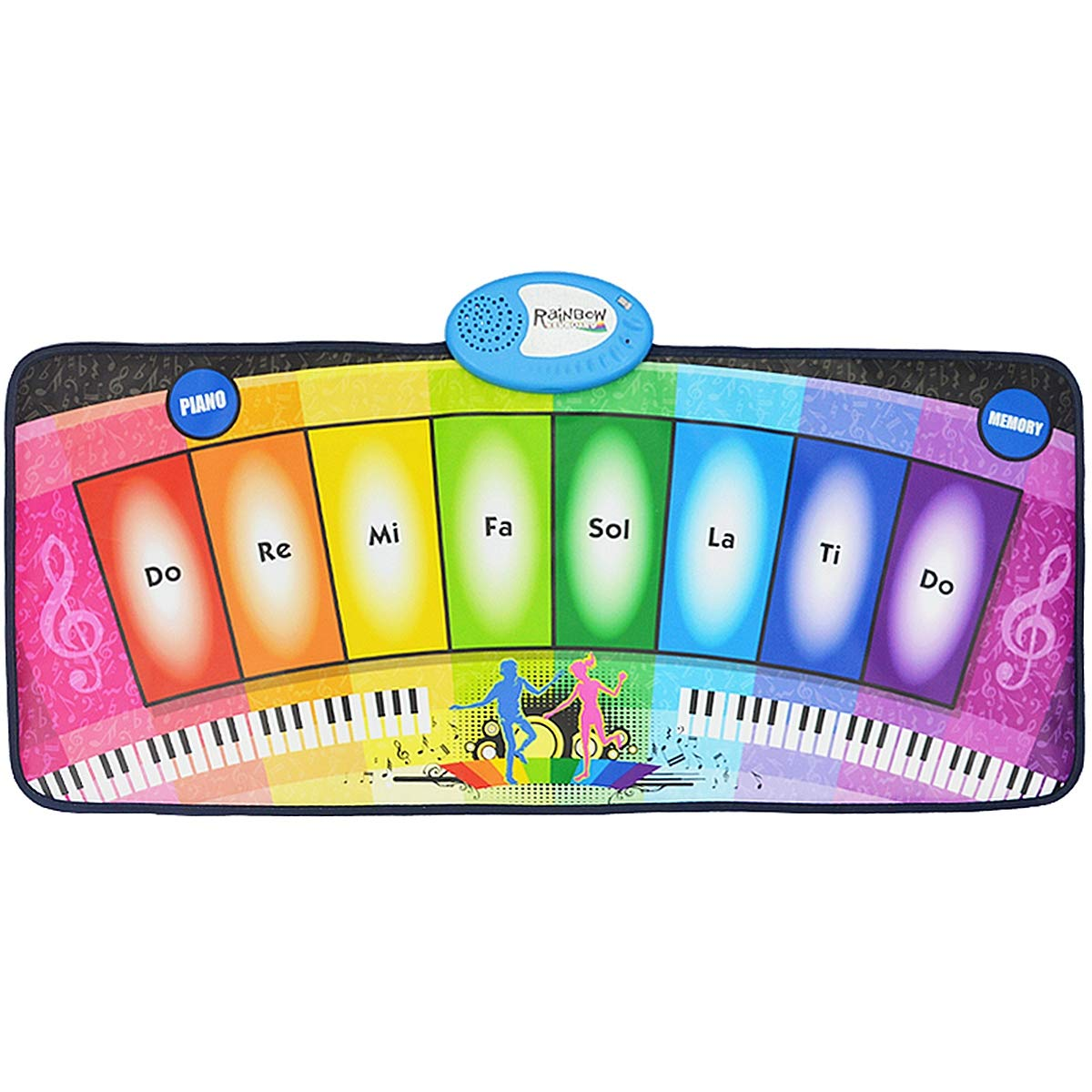 Children's Electronic Piano Mat, Electronic Music Game Pad Music Crawling Blanket Support Multi-Person Use