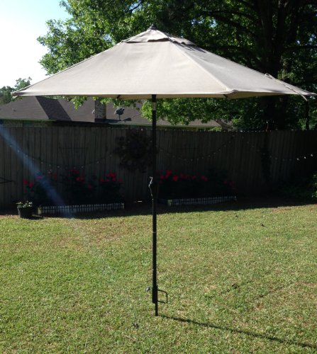Outdoor Beach Umbrella Stand Great Sand Anchor Best Wind