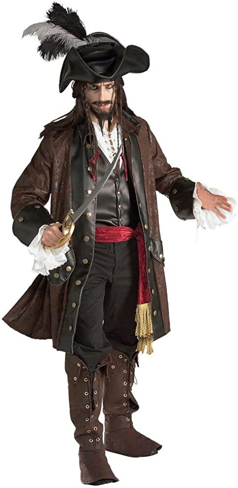 Rubie's Men's Caribbean Pirate Grand Heritage Costume 61EZIbk5LBL