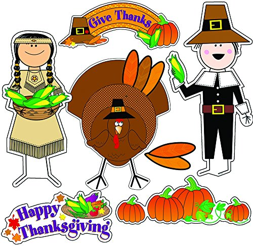 Creative Teaching Press Thanksgiving Bulletin Board Set (1654) -