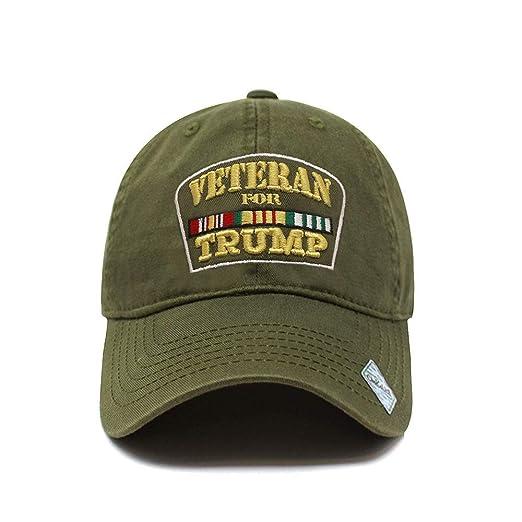 ChoKoLids Veterans for Trump Dad Hat  adf8cd12af39