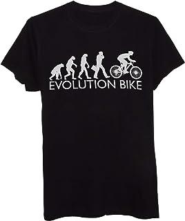 New Indastria T-Shirt Bicicletta - Evolution Bike - Sport E Tempo Libero
