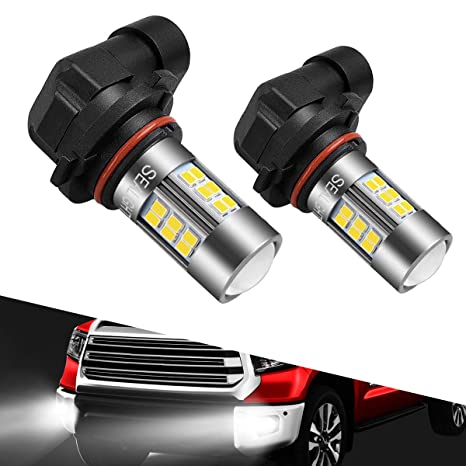 H8 Xenon WHITE 16W HIGH POWER 8000K COOL BLUE LED Car Fog Bulbs A