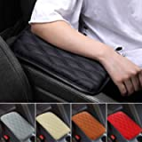 Mioloe Auto Center Console Cover Pad Universal Fit for SUV/ Truck/ Car, Waterproof Car Armrest Seat Box Cover, Leather…