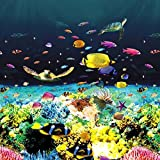Great Barrier Reef 24 ft Round Beaded x 48'', Above Ground Pool Liner - Quality Pool Products (24' round)