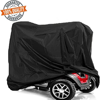 Wheelchair Cover Mobility Scooter Storage Cover Lightweight Waterproof Storage Rain Protector from Dust Dirt Snow Rain Sun Rays 67 x 24 x 46 inch L x W x H