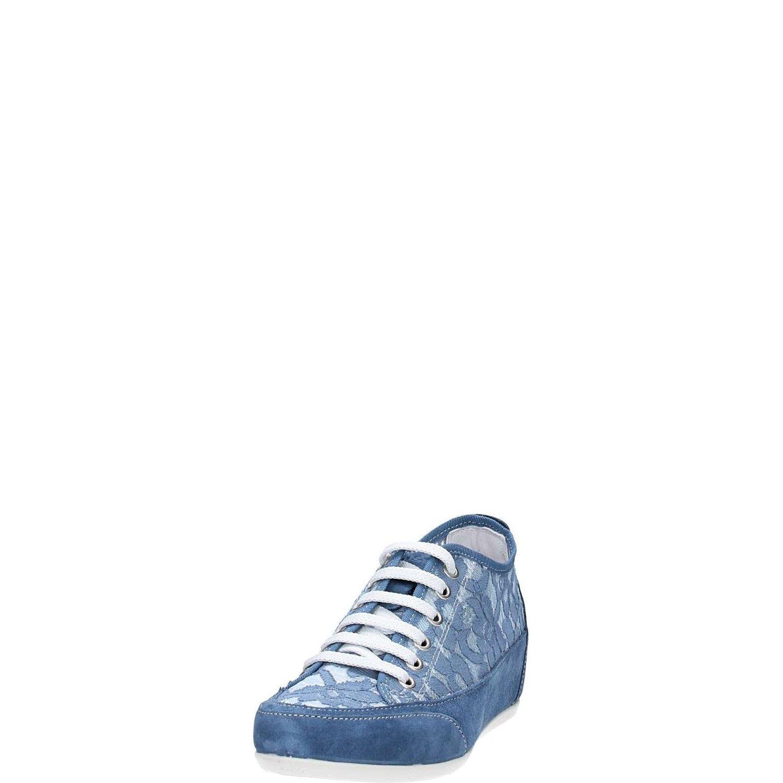 IGI&CO IGI&CO IGI&CO - scarpe da ginnastica in macramè Blu con Zeppa 0ea52d