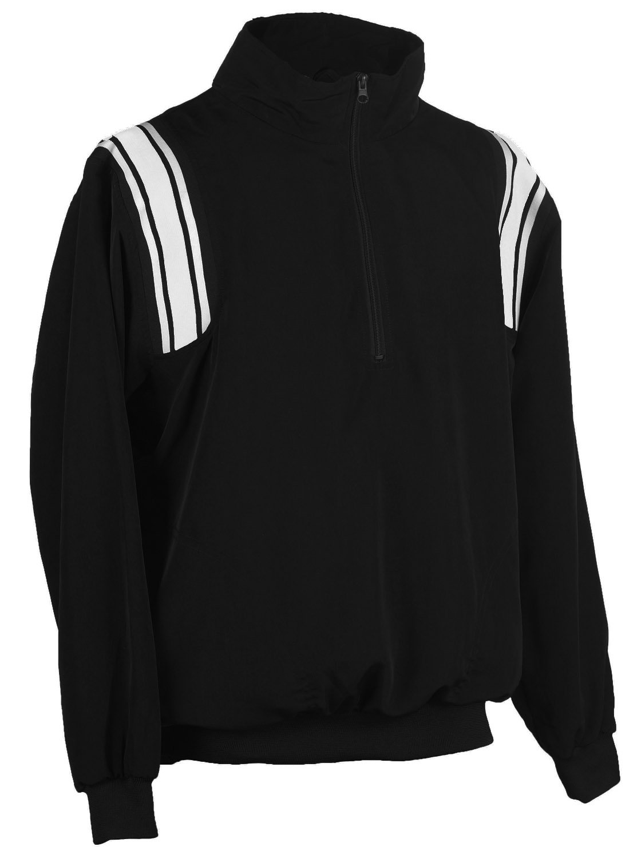Adams USA Smitty B004MDK6N2 Umpire 1 Smitty/2 Zip Long Sleeve Pullover Pullover Jacket (Black/White, XXX-Large) B004MDK6N2, グッドライブ:3d563e75 --- accounting8.ru