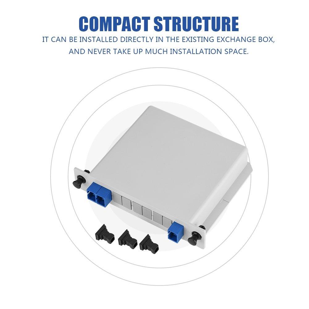 Richer-R Fiber Optic Splitter 1 x 2 Fiber Optic PLC: Amazon
