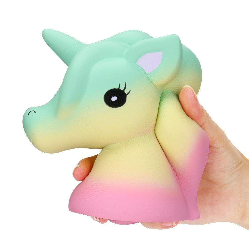 Ice.mask 1Pcs Unicorn Toy Slow Rebound Toy Squeezing Decompression Toys Stress Relief Toys for Kids Adults