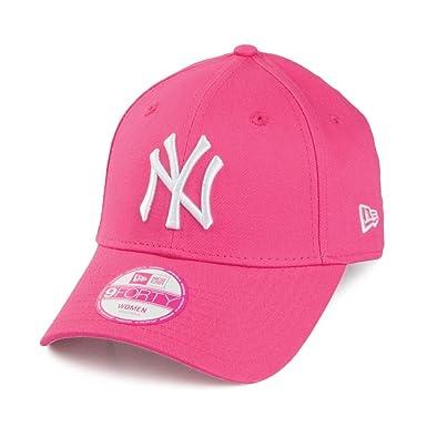 83b95d5f0 New Era Womens 9FORTY New York Yankees Baseball Cap - Pink