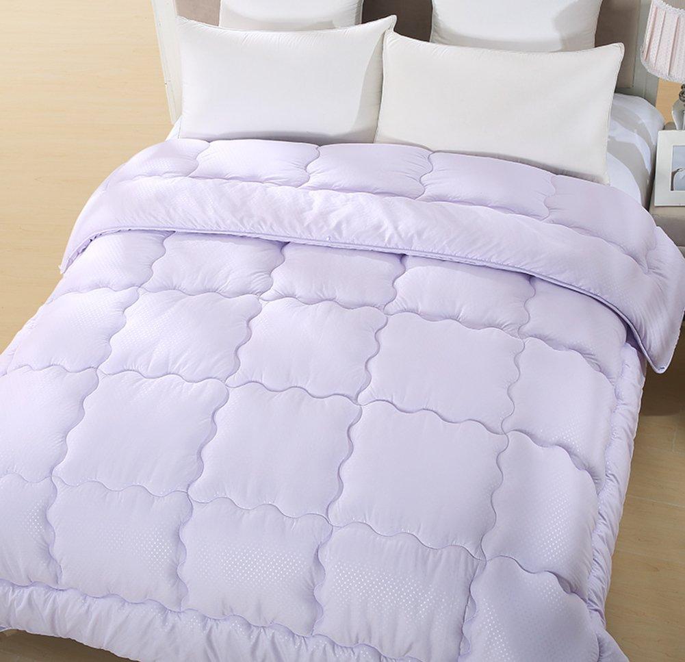 Quilt Hotel twin quilt Lavender fiber winter thick warm-B 200x230cm(79x91inch)net weight1.3kg