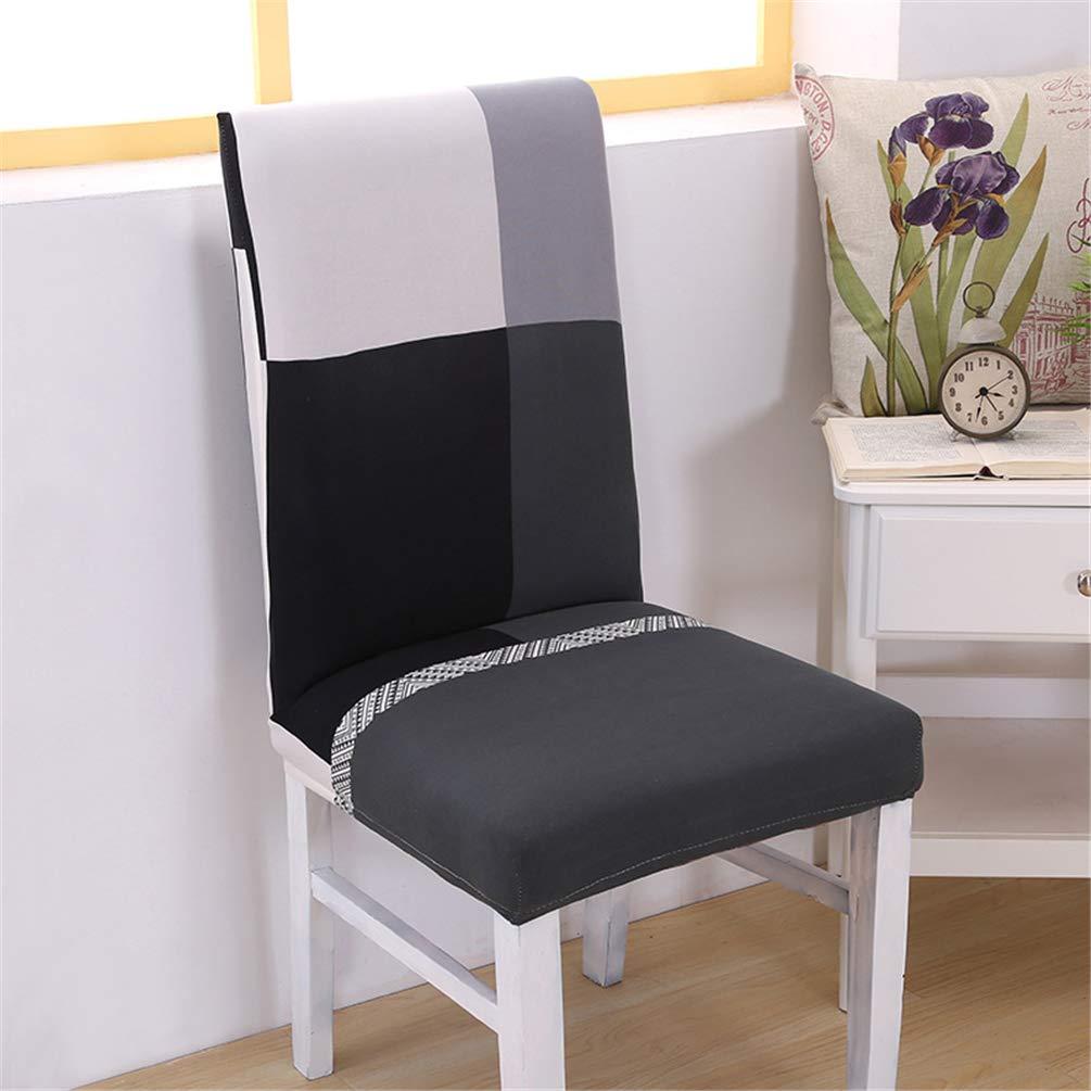 JITIAN Coprisedile Spandex Elastico Rimovibile Elastico Banchetto Couch Shell Allungamento Pranzo Coprisedile Stampa Pastorale Europa