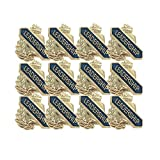5/8 Inch Leadership Lapel Pin - Package of 12, Poly Bagged
