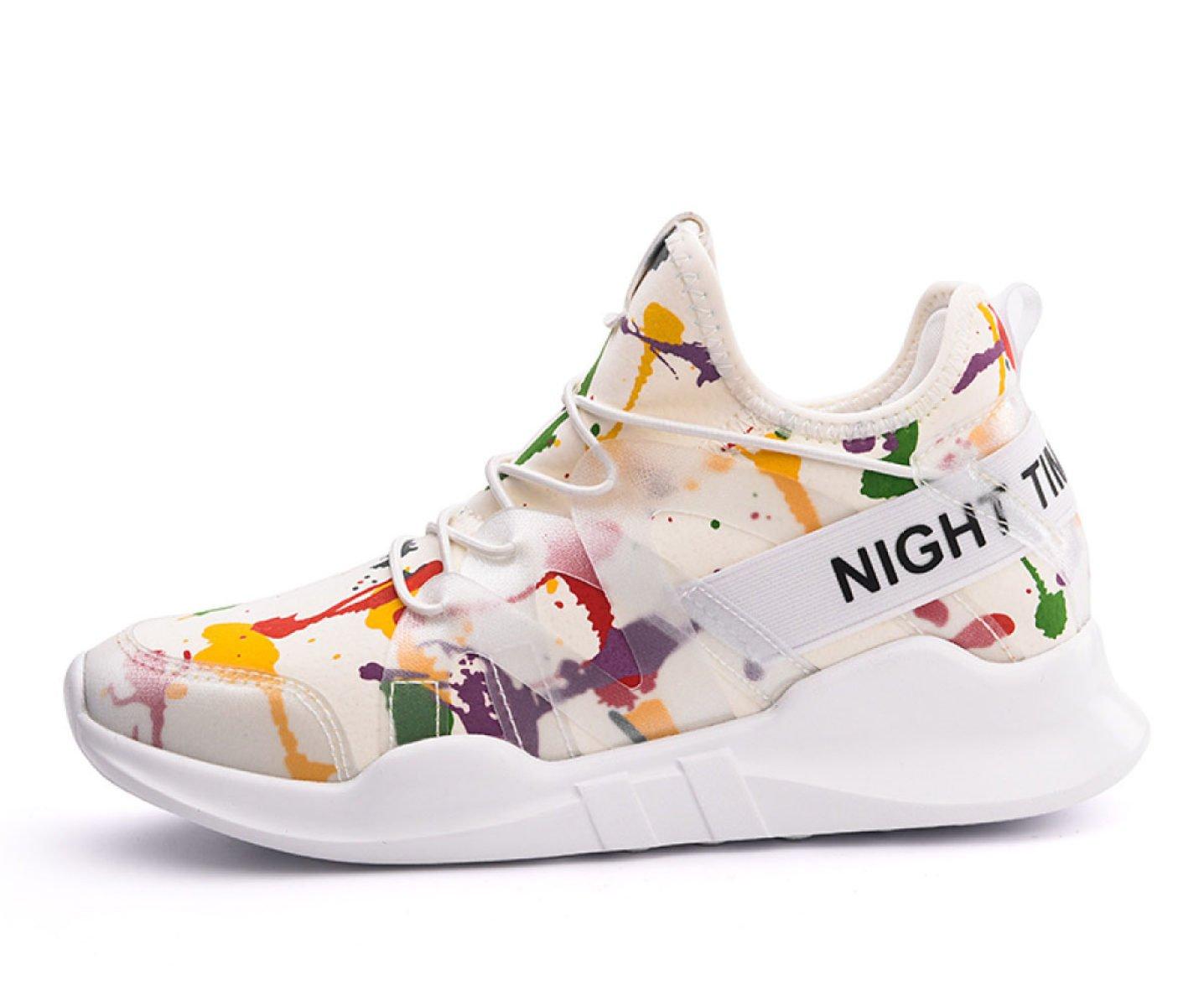 Yrps Sra. Zapatos Deportivos Zapatos Casuales De Primavera Y Otoño Zapatos Casuales PU 36 EU|F