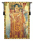 Hygeia by Klimt Italian Tapestry Wallhanging