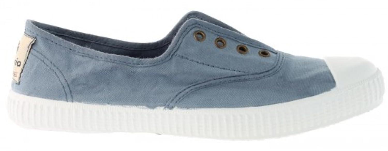 Victoria Women's Canvas Inglesa Elastico Fashion Sneakers Made in Spain B074PXNJ38 41 M EU|Azul