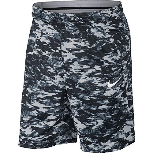 White Black Nike Attack Dry Grey Shorts Men's Wolf Print rt808qBaxn