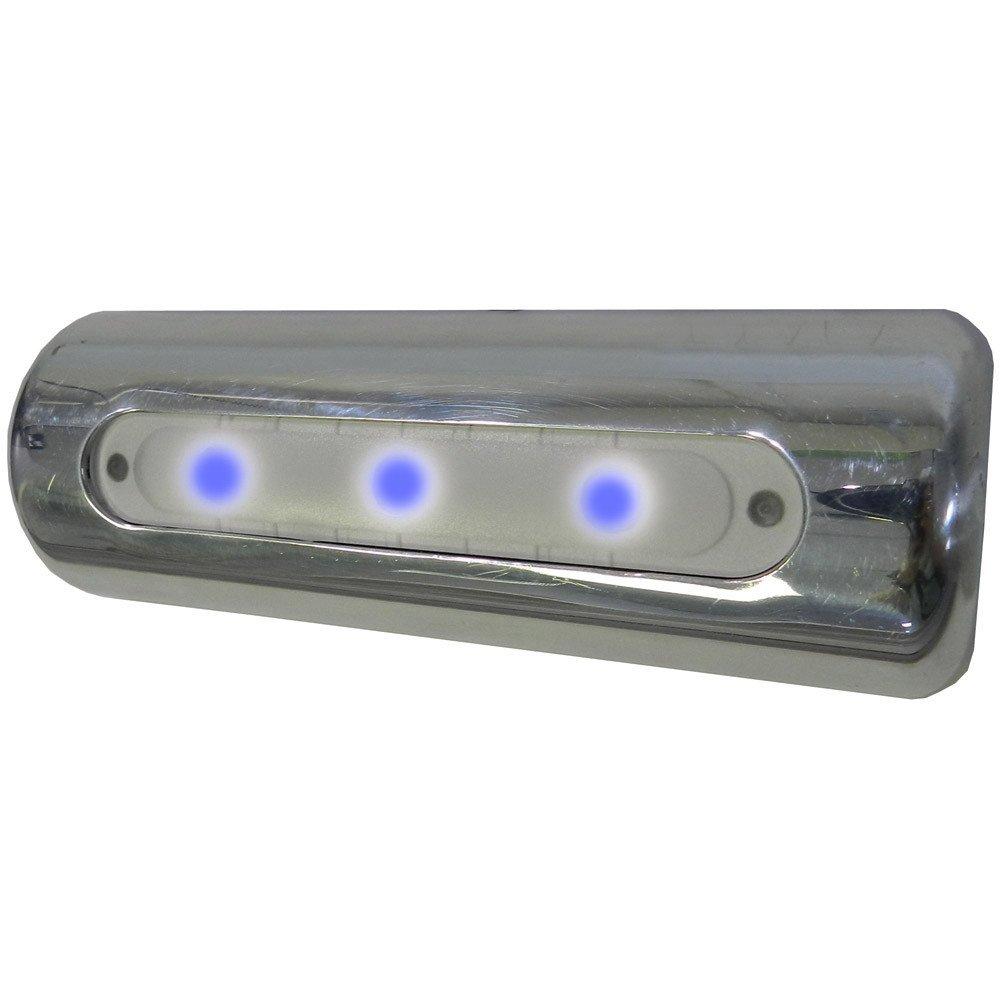 TACO LED Deck Light - Pipe Mount - Blue LEDs