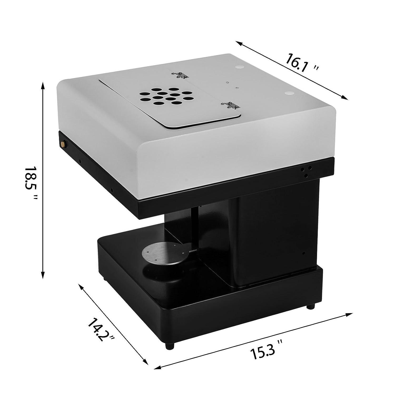 buoqua 110 x 110 mm máquina para café impresión Fai Da Te 20sec para una taza Coffee Printer apta para Win 7 Win 8 y Win 10 (caffeteria y Bar: Amazon.es: ...