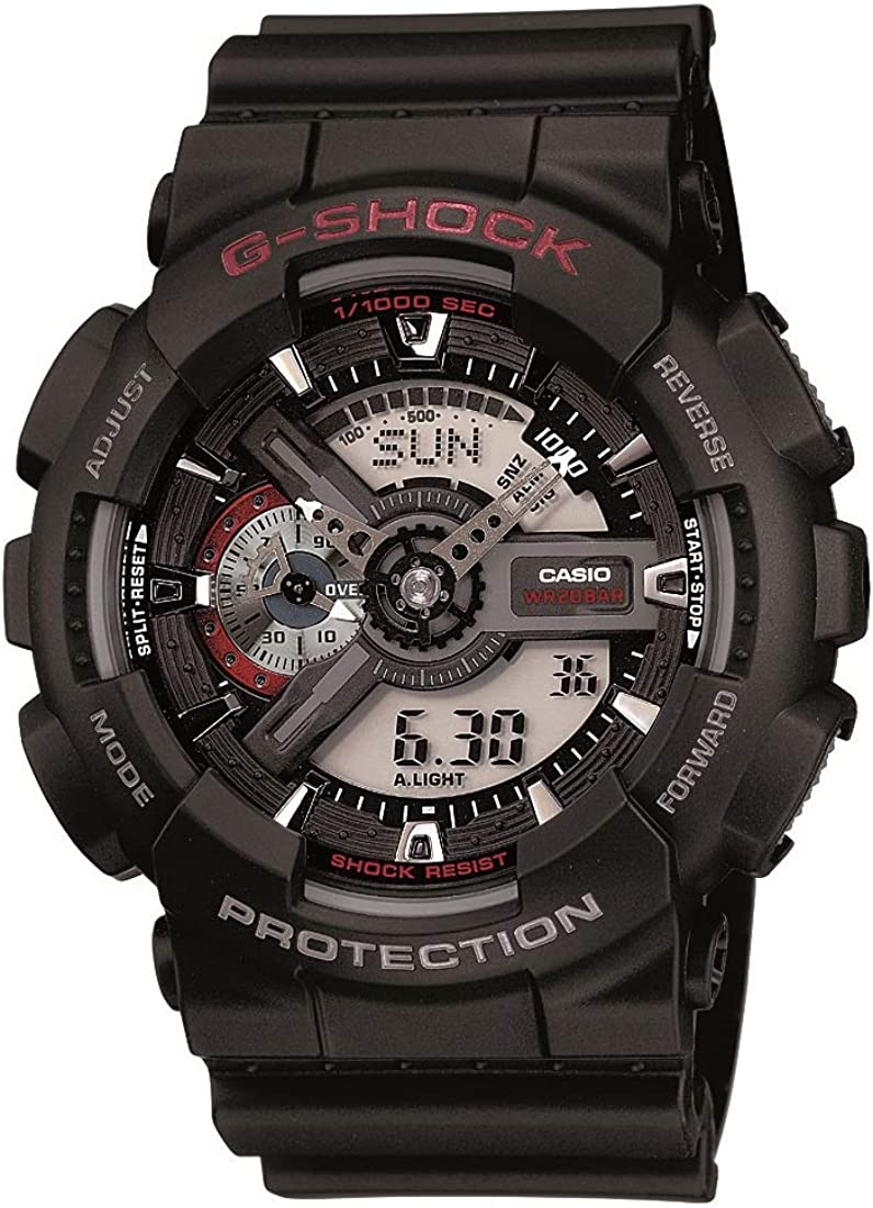 Reloj Casio GA110-1A XL Series by G-Shock Classic Analógico Digital Negro