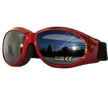 Motorradbrille HEEZY® Sportbrille Chopper Motorrad Motorboot Ski Fahrrad Brille f6NjK