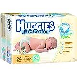 Huggies Ultraconfort, Unisex, Recién Nacido, 192 Pañales
