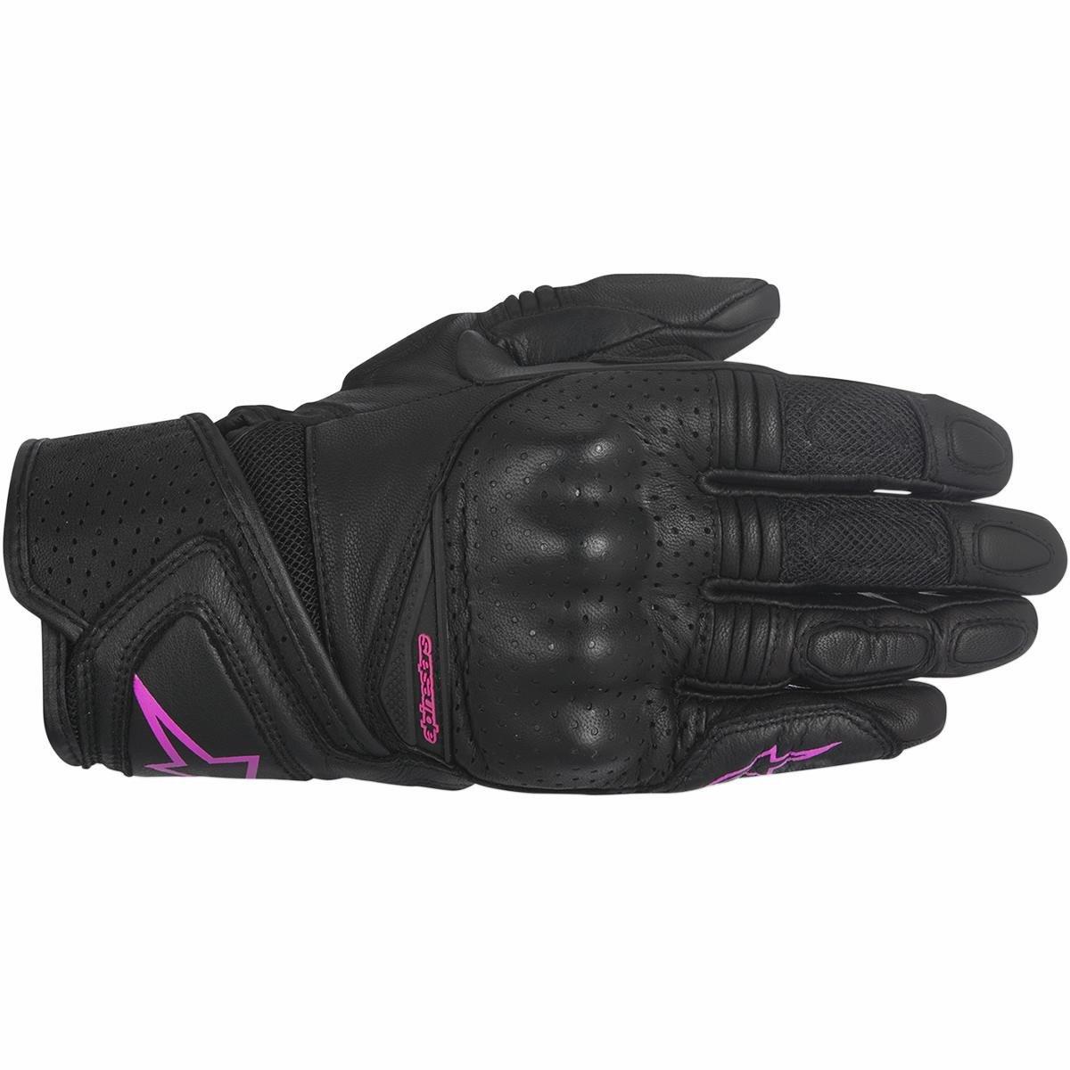 Motorcycle Alpinestars Stella Baika Gloves - Black Pink UK 18051194898647