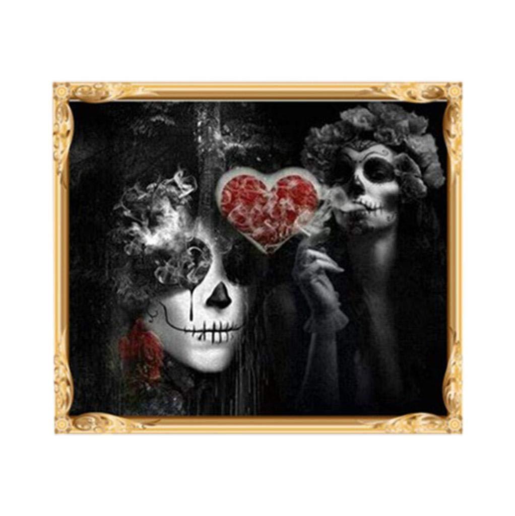 Diamant Bild Halloween 5D Strass Stickerei Voller Bohrer Diamant ...